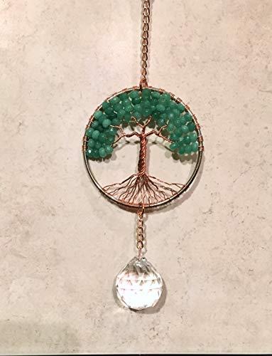 Green-Adventurine-Crystal-Gemstone-Sun-Catcher-Tree-of-Life-Window-Ornament-Crystal-Ball-PrismGreen-Adventurine-Feng-Shui-Healing-Gemstone-Wire-Tree-Suncatcher-0-2