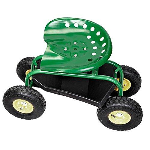 Green-Rolling-Garden-Swivel-Seat-Planting-Adjustable-Height-0-0
