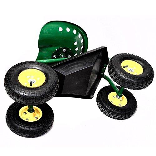 Green-Rolling-Garden-Swivel-Seat-Planting-Adjustable-Height-0-1