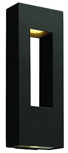 Hinkley-1649SK-Contemporary-Modern-Two-Light-Wall-Mount-from-Atlantis-collection-in-Blackfinish-0