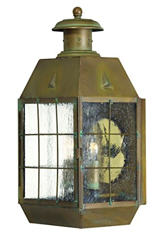 Hinkley-2374AS-Restoration-Two-Light-Wall-Mount-from-Nantucket-collection-in-Brassfinish-0