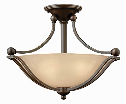 Hinkley-4651OB-GU24-Transitional-Two-Light-Semi-Flush-Mount-from-Bolla-Collection-in-BronzeDarkfinish-0