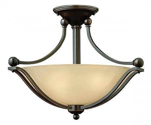 Hinkley-4651OB-LED-Transitional-One-Light-Semi-Flush-Mount-from-Bolla-collection-in-BronzeDarkfinish-0