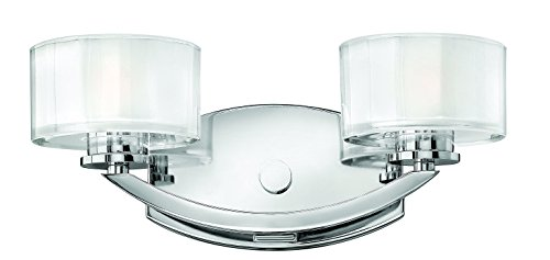 Hinkley-5592CM-LED-Transitional-Two-Light-Bath-from-Meridian-collection-in-Chrome-Pol-Ncklfinish-0