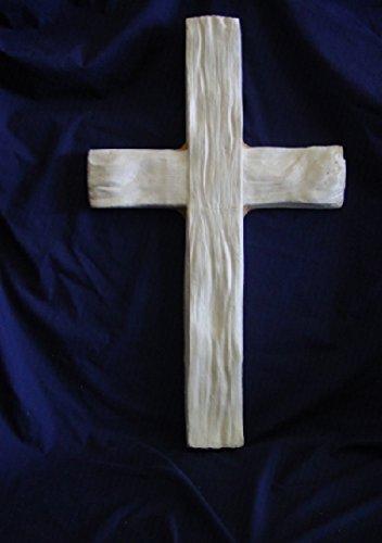 Huge-Wood-Look-Cross-Concrete-or-Plaster-Mold-7159-0-0