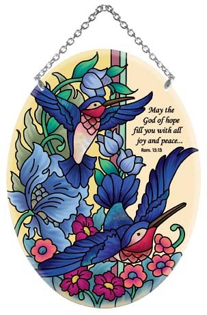 Hummingbird-Tapestry-God-of-Hope-Romans-1513-Stained-Glass-Suncatcher-MO200R-0