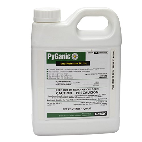 Insecticide-Organic-Pyganic-14-Pyrethrin-1-Quart-Size-by-Davids-Garden-Seeds-and-Products-0