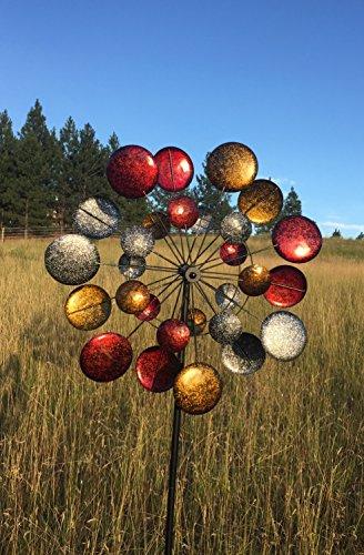 Jumbo-Modern-Art-Kinetic-Quadruple-Wind-Sculpture-Spinner-0-1