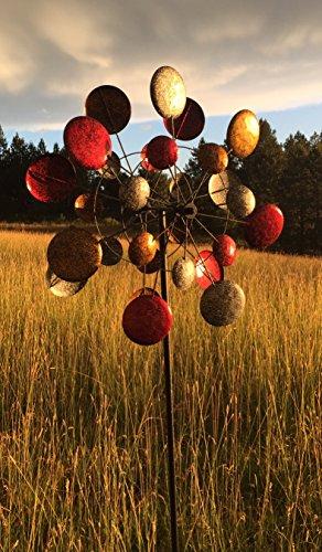 Jumbo-Modern-Art-Kinetic-Quadruple-Wind-Sculpture-Spinner-0-2