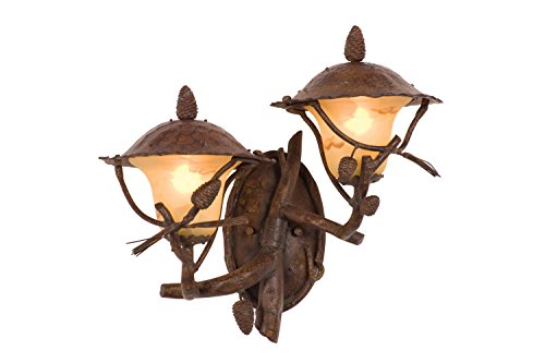Kalco-9163PD-Ponderosa-Outdoor-2-Light-Wall-Sconce-Bracket-0
