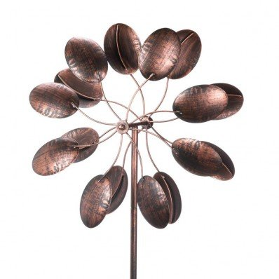 Koehler-15212-84-Inch-Rustic-Pinwheel-Garden-Windmill-0-1