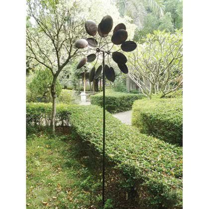Koehler-15212-84-Inch-Rustic-Pinwheel-Garden-Windmill-0