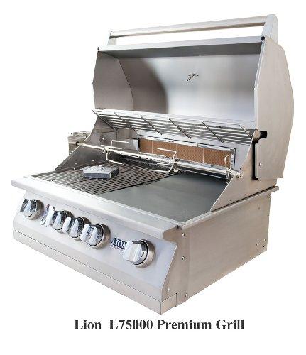 LION-L75000-Built-in-Premium-BBQ-Liquid-Propane-Grill-0-1