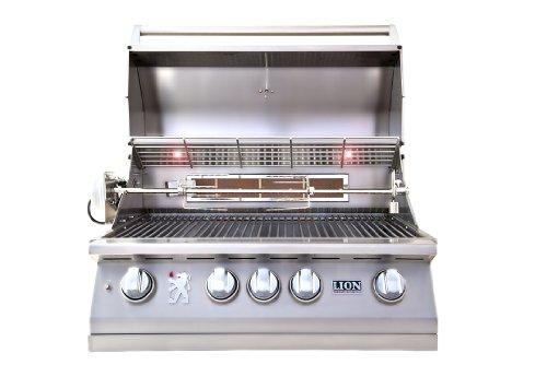LION-L75000-Built-in-Premium-BBQ-Liquid-Propane-Grill-0