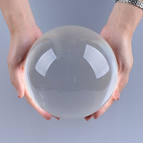 LONGWIN-150mm-59-inch-Divination-Crystal-Ball-Glass-Globe-Sphere-Free-Wooden-Stand-0-1