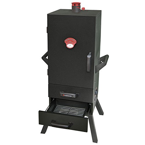Landmann-34-in-Charcoal-Easy-Access-2-Drawer-Vertical-Smoker-0-0