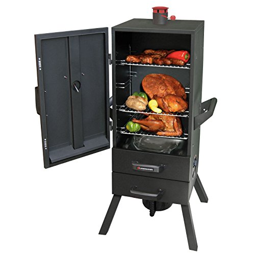 Landmann-34-in-Charcoal-Easy-Access-2-Drawer-Vertical-Smoker-0-1
