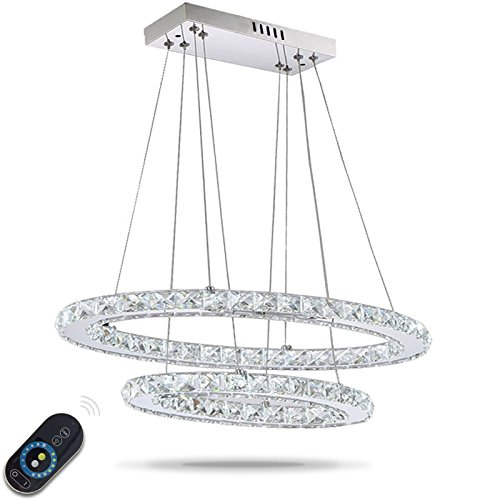 LightInTheBox-Dimmable-LED-Crystal-Oval-Pendant-Lights-Lamps-Fixtures-Galaxy-Crystalline-Light-2-Ring-Indoor-Cristal-Lighting-Modern-Lustre-Lamps-with-Remote-Control-0