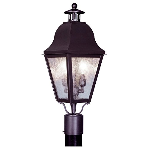Livex-Amwell-2552-07-Outdoor-Post-Lantern-23H-in-Bronze-0