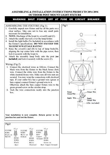 Livex-Providence-2094-07-Outdoor-Post-Lantern-0-0