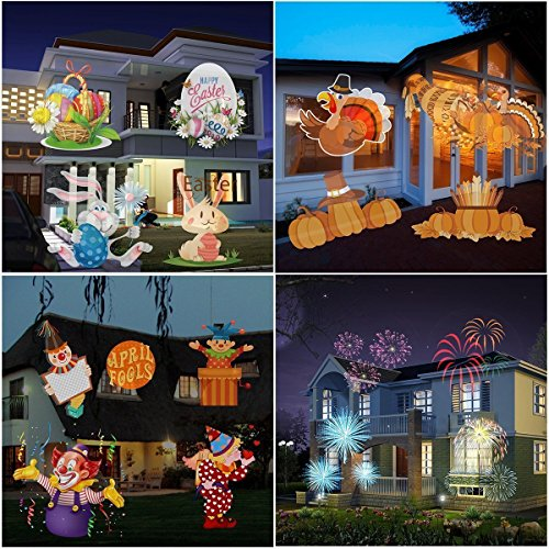 MUEQU-Christmas-Projector-Light-LED-Spotlight-LampWaterproof-LED-Landscape-Lamp-Light-Effect-with-16-Replaceable-Slides-for-Christmas-Birthday-Halloween-Party-Weeding-GardenHome-Wall-Decoration-0-0