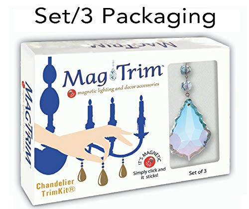 MagTrim-Set3-Magnetic-Chandelier-Crystals-40-MM-Clear-Solid-Glass-Ball-Replacement-Chandelier-Crystals-Prism-PendantsHanging-Crystals-for-ChandeliersCrystal-Prisms-GlassCrystal-Beads-Parts-0-1