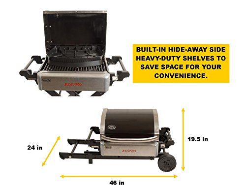 Martin-Bistro-Gas-Grill-Portable-Stainless-Steel-Tabletop-BBQ-Propane-Barbeque-Grills-for-Camping-Outdoor-0-2