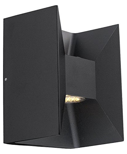 Matte-Black-Morino-2-Light-LED-4125in-Wide-Outdoor-Wall-Sconce-0