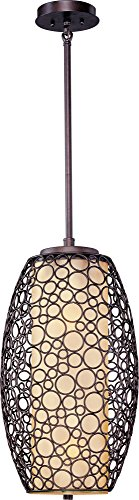 Maxim-21341DWUB-Meridian-2-Light-Pendant-Umber-Bronze-Finish-Dusty-White-Glass-MB-Incandescent-Incandescent-Bulb-100W-Max-Dry-Safety-Rating-Standard-Dimmable-Metal-Shade-Material-1150-Rated-Lumens-0