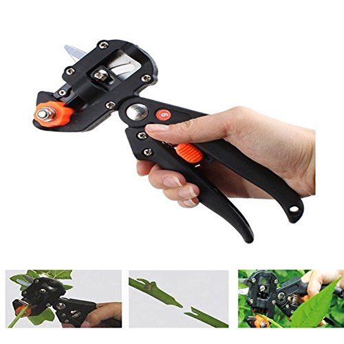 Maximumstore-Professional-Nursery-Grafting-Cutting-Tool-Pruner-Knife-w2-Extra-Blades-Black-0-1