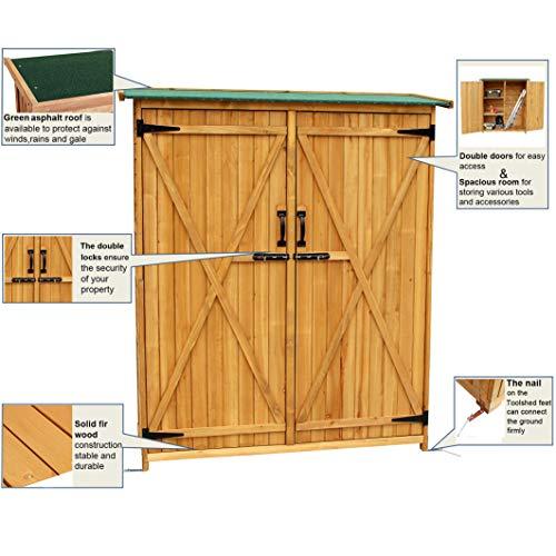 Mcombo-Outdoor-Wooden-Storage-Shed-Utility-Tools-Organizer-Garden-Lawn-w-Lockable-Double-Doors-1400-0-1