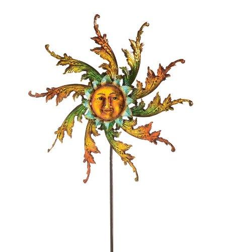 Midsummer-Sun-Face-Metal-Wind-Spinner-0