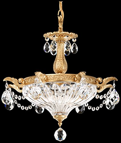 Milano-2-Light-Chandelier-in-Heirloom-Bronze-with-Golden-Shadow-Crystals-From-Swarovski-0