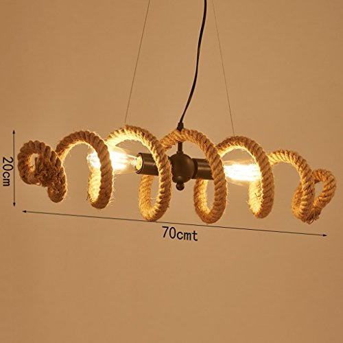 Modeen-Army-Chain-adjustable-Industrial-Lamp-Rustic-Rope-Chandelier-2-Light-Fitting-Length-70-cm-wave-shape-Bar-Loft-Light-Pendant-lights-Barn-warehouse-Ceiling-light-0-0