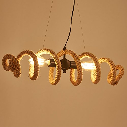 Modeen-Army-Chain-adjustable-Industrial-Lamp-Rustic-Rope-Chandelier-2-Light-Fitting-Length-70-cm-wave-shape-Bar-Loft-Light-Pendant-lights-Barn-warehouse-Ceiling-light-0