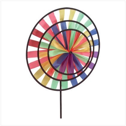 Multicolor-Triple-Kaleidoscope-Wind-Wheel-Pinwheel-0