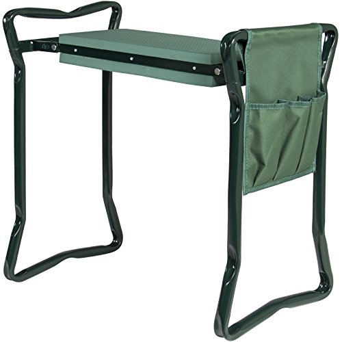 Multipurpose-Foldable-Garden-Kneeler-and-Portable-Stool-EVA-Pad-With-Bonus-Tool-Pouch-Will-Assist-You-With-All-Of-Your-Gardening-Task-Although-This-Season-Green-0