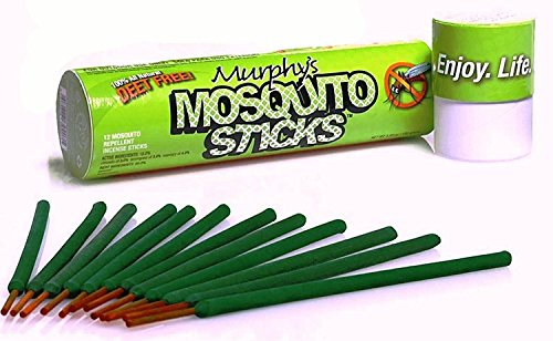 Murphys-Mosquito-Sticks-All-Natural-Insect-Repellent-Incense-Sticks-Bamboo-Infused-with-Citronella-Lemongrass-Rosemary-12-Per-Tube-0