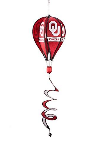 NCAA-Oklahoma-Sooners-Hot-Air-Balloon-Spinner-Novelty-11-x-11in-0