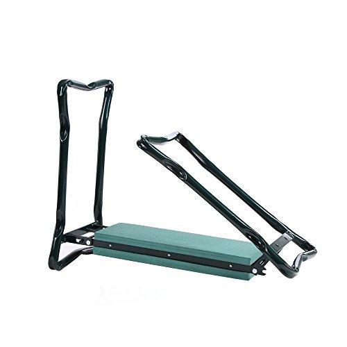 NEW-Folding-Garden-Kneeler-Knee-Pad-Support-Seat-Bench-Ergonomic-Garden-Tool-Green-0-2