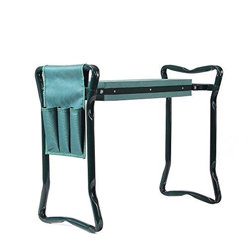 NEW-Folding-Garden-Kneeler-Knee-Pad-Support-Seat-Bench-Ergonomic-Garden-Tool-Green-0