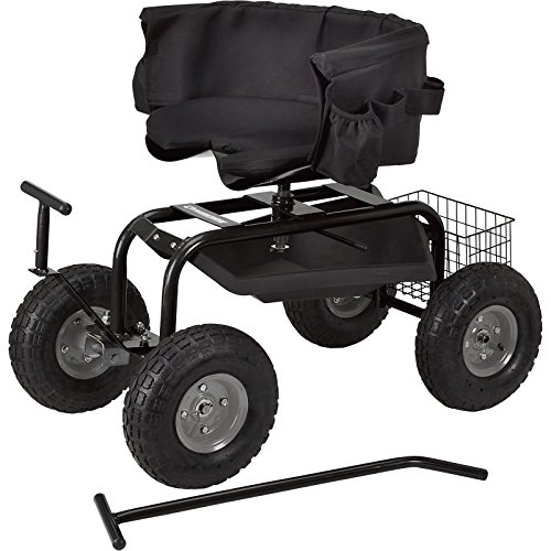 NEW-Rolling-Garden-Seat-With-Easy-Change-Turnbars-Swiveling-0-0