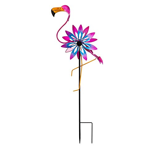 New-Creative-Flamingo-Kinetic-Wind-Spinner-0-0