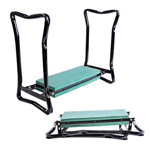 New-Folding-Garden-Kneeler-Gardener-Kneeling-Pad-Cushion-Seat-Sturdy-Green-0-1