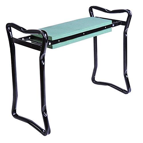 New-Folding-Garden-Kneeler-Gardener-Kneeling-Pad-Cushion-Seat-Sturdy-Green-0-4