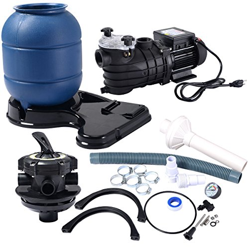 New-Swimming-Pool-Pump-Pro-2450GPH-13-Sand-Filter-Above-Ground-10000GAL-0-0