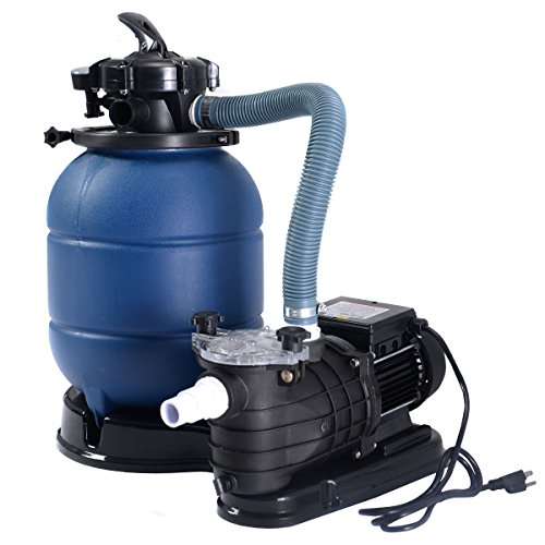 New-Swimming-Pool-Pump-Pro-2450GPH-13-Sand-Filter-Above-Ground-10000GAL-0