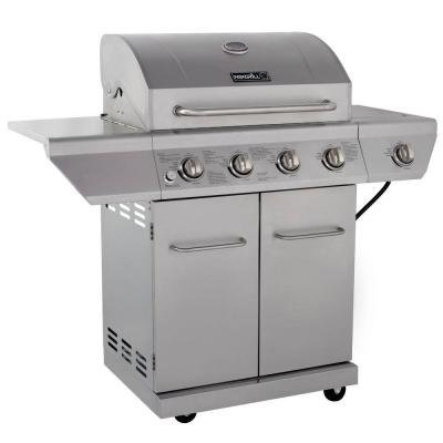 Nexgrill-4-Burner-Propane-Gas-Grill-in-Stainless-Steel-with-Side-Burner-0