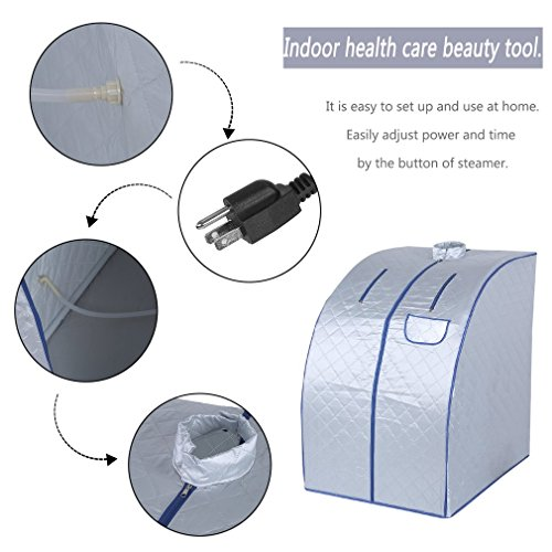 Nexttechnology-Lightweight-Personal-Steam-Sauna-Rejuvenator-Portable-Indoor-Therapeutic-Steam-Sauna-Spa-850W-for-Relaxation-Detox-Weight-Loss-0-0
