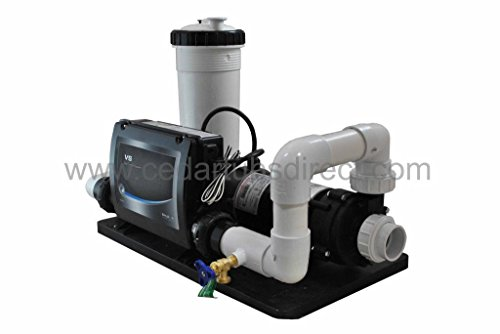 Northern-Lights-Group-Balboa-Spa-System-15-HP-Pump-55-Kw-Heater-50-ft-0